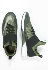 Nike Air Zoom fuerte UK 9 negro verde legión EU44 Blanco Rrp £ 125.00
