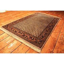 Schöner Handgeknüpfter Orient Blumen Perser Teppich Sarough Mir Carpet 165x95cm