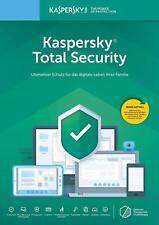 Kaspersky Total Security 2020 1PC, 2PC, 3PC, 5PC / Geräte (1 und 2 Jahre)