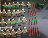22Pcs lego MOC Military United States Infantry Minifigures Soldiers horse weapon