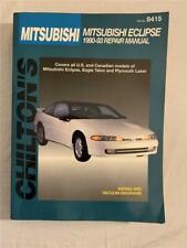 Chilton's Mitsubishi Eclipse 1990-1993 Repair Manual Eagle, Talon, Laser US CAN