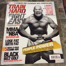 4/12 TRAIN HARD FIGHT EASY MAGAZINE - TITO ORTIZ UFC - MMA - US Edition
