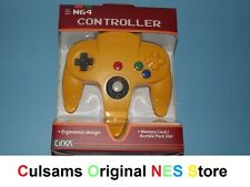 NEW N64 (PIKACHU-YELLOW) Controller for Nintendo 64 System with 30 Day Guarantee