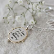 We Love You Mummy Necklace, Mummy Gift, Mothers Day, Mummy Gifts From Kids (B1)
