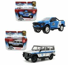 JADA 1:43 JURASSIC WORLD ASSORTMENT WAVE 2 MERCEDES-BENZ G-CLASS & RESCUE TRUCK
