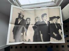 Vintage (B/W) Fleetwood Mac Tango in the Night Poster (Stevie Nicks)