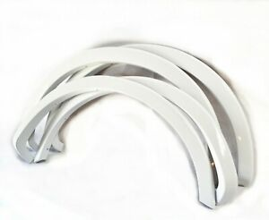For 09-14 Ford F150 Painted White Code Z1 Fender Flare Wheel Protector OE Style