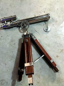 "Antique Telescope 16"",Double Barrel Vintage Telescope ,Marine Gift ,Sailors Gift"