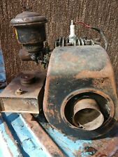 Vintage Briggs & Stratton washing machine motor turns with spark no compression