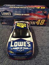Jimmie Johnson #48 Autographed lowes / power of pride 1/24 diecast