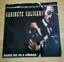 ANDRES CALAMARO & GABINETE CALIGARI Nadie me va a añorar CD SINGLE PROMO ESPAÑA