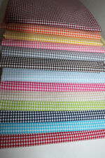 Markenlose karierte Handarbeitsstoffe aus Baumwolle