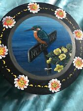 Barge Painted Kingfisher Floral Pattern Storage Box Small