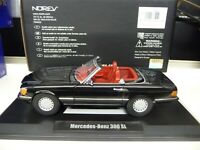 1:18 NOREV Mercedes 300SL W107 black Limited Edition 1000 Pieces NEU NEW