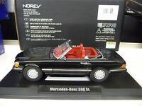1:18 NOREV Mercedes 300SL W107 black Limited Edition 1000 Pieces NEU NEW