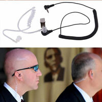 Earphone Headset Covert Acoustic Tube Earpiece  1 PIN 3.5mm  For Motorola Radio