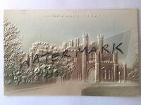 ANTIQUE OLD VINTAGE EMBOSSED COLOUR POSTCARD GOVERNMENT HOUSE SYDNEY NSW