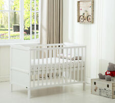 "MCC®  Wooden Baby Cot Bed ""Orlando"" & Water repellent Mattress"