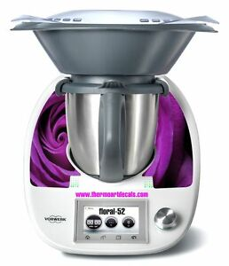 Thermomix TM5 Sticker Decal  (Code: Floral 52)
