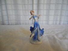 Vintage art deco porcelain lady dancer, woman figure Germany #8715