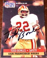 TODD BOWLES   Tampa Bay Buccaneers SUPER BOWL coach auto autograph football card