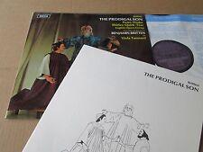 BRITTEN THE PRODIGAL SON PEARS DRAKE TUNNARD DECCA SET 438 UK LP AUDIOPPHILE SXL
