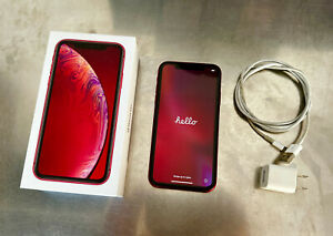 Apple iPhone XR (PRODUCT)RED - 128GB - (Unlocked) A1984 (CDMA + GSM)