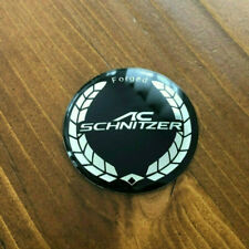 45MM AC SCHNIZER Logo Steering Wheel Center Cap Cover Emblem Badge Decal Sticker