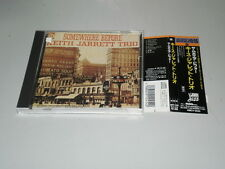 KEITH JARRETT TRIO - SOMEWHERE BEFORE - CD 1991 JAPAN W/OBI - ATLANTIC JAZZ -