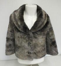 Bilabong Faux Fur Women's Jacket Size Medium Satisfaction 100% Guaranteed LOOK