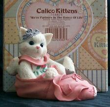Enesco Calico Kittens 314471 We're Partners Dance Life