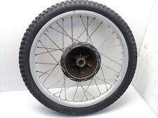 #4070 Yamaha DT400 DT 400 Enduro Aluminum Front Wheel & Tire