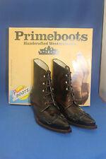 Prime Stiefelette westernstiefel Boots cowboyboots gr. 36 neu marron negro leder