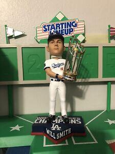 Will Smith Los Angeles Dodgers World Series Champion Bobblehead
