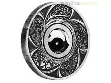 1 $ Dollar Yin & Yang Rotating Charm Tuvalu 1 oz Silber Silver 2016
