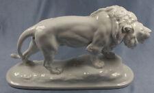 löwe Heubach Fraureuth porzellan porzellanfigur figur Löwen lion löwenpaar 1915