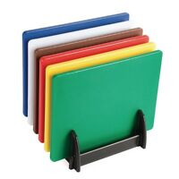 Professional Low Density Colour Coded Chopping Boards Hygiplas Kitchen Set