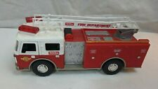 "Hasbro Tonka Fire Dept Truck Toy Vehicle USED Lights/Sound 13"" Long FunRise"