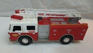"Hasbro Tonka Fire Dept Truck Toy Vehicle USED Lights/Sound 13"" Long FunRise"