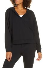 NEW Zella Womens Pullover Hoodie CARTER Black Active Sweatshirt SIZE SMALL NWT