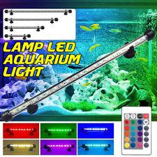 RGB 5050 LED Light Aquarium Fish Tank  Bar Lamp Submersible with Remote Control
