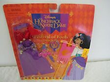 DISNEY HUNCHBACK  NOTRE DAME ESMERALDA DOLL FASHION CLOTHING FESTIVAL OF FOOLS