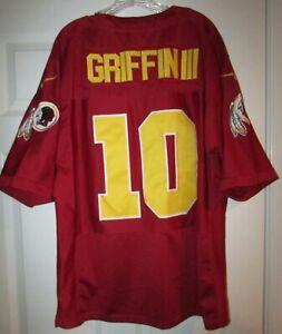 NFL Washington Redskins Nike 80th Anniv Robert Griffin III RG3 Jersey Sz 48