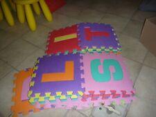 ABC Kindermatte 26 teilig Fussbodenmatte Baby Lernspielzeug