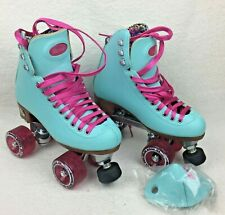 Moxi Beach Bunny Blue Sky Roller Skates Size 4 (women's 5-5.5) with Box