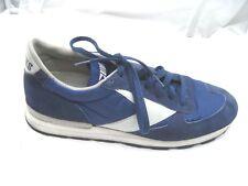 Brooks navy blue suede running mens tennis sneakers running shoes 10M 4505