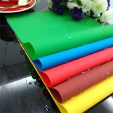 Silicone Pastry Bakeware Baking Tray Oven Rolling Sheet Kitchen Mat Cooking New