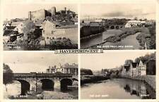 Haverfordwest, Castle, River from New Bridge, Old Quay RP