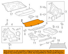 Scion TOYOTA OEM 11-16 tC Interior-Rear-Floor Cover 5841021040B1