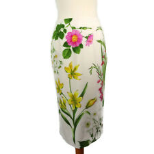 NEW £48 Oasis Size 12 Chelsea Garden Skirt Floral Pencil Wiggle Straight Multi